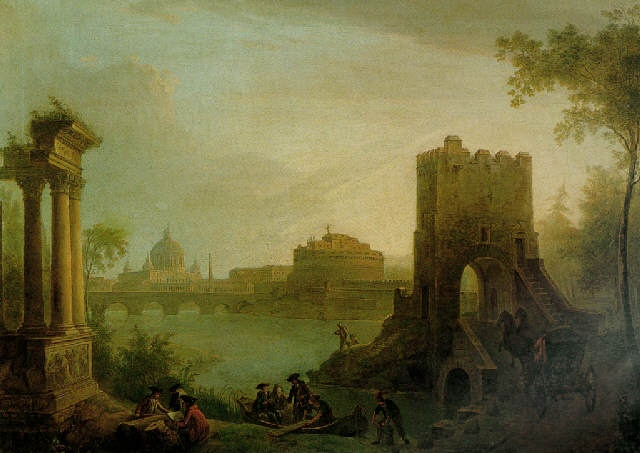 1000 images about paintings of the tiber on pinterest for How much is my painting worth
