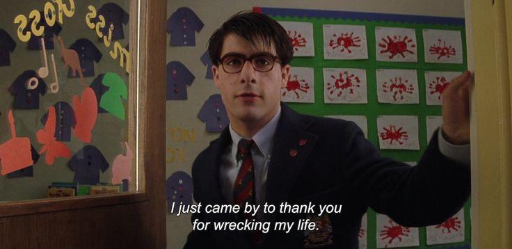 Rushmore (1998), dir. Wes Anderson