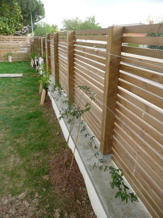 25 best ideas about brise vue bois on pinterest brise - Plante brise vue terrasse ...