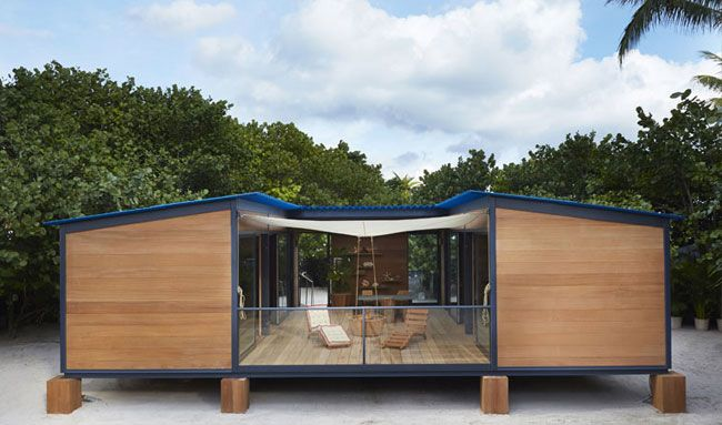 Charlotte Perriand's 1934 Beach Holiday House Built By Louis Vuitton at Design Miami | Featured on Sharedesign.com