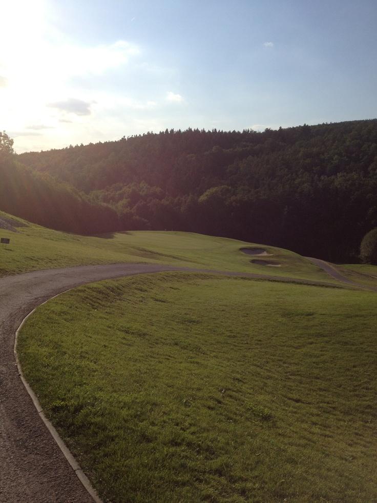 Beroun, Czech Republic. Wonderful and tough par 3.