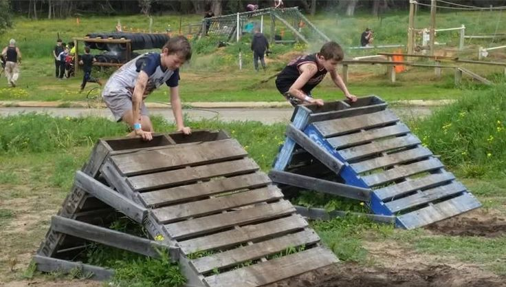Permanent Obstacle Course That Is Muddy Fun For The Whole