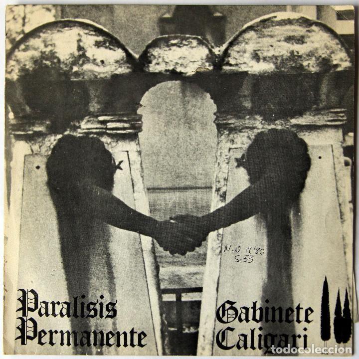 PARALISIS PERMANENTE / GABINETE CALIGARI SPLIT 1ª EDICION SELLO TIC TAC 1981 EP CON ENCARTE - Foto 1