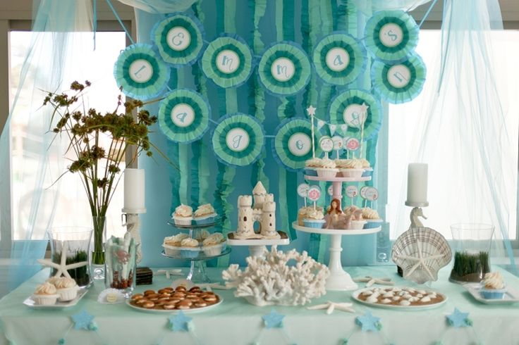 decoraciones para cumpleanos de adultos mayores under the sea spa party beach