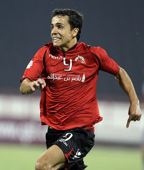 Al Rayyan's Brazilian professional Nilmar in action during the Qatar Stars League. Picture by Vinod Divakaran www.dohastadiumplusqatar.com