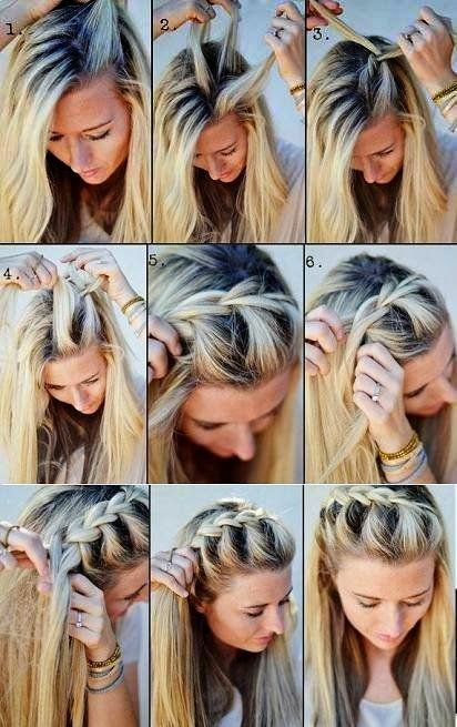 Be Creative Be You: Hairstyles: Loose Braided Hair
