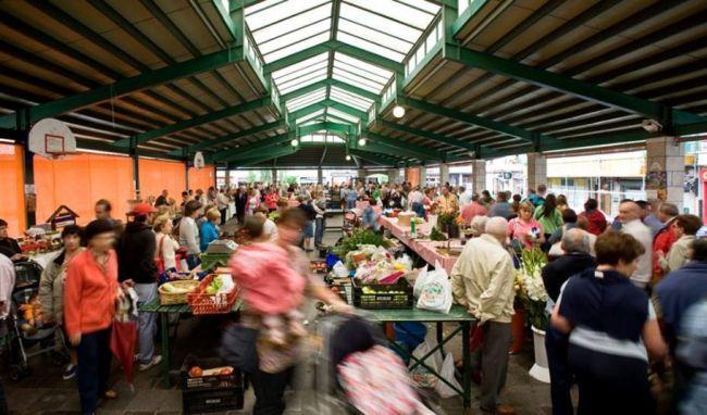 Gernika, el mercado de los lunes