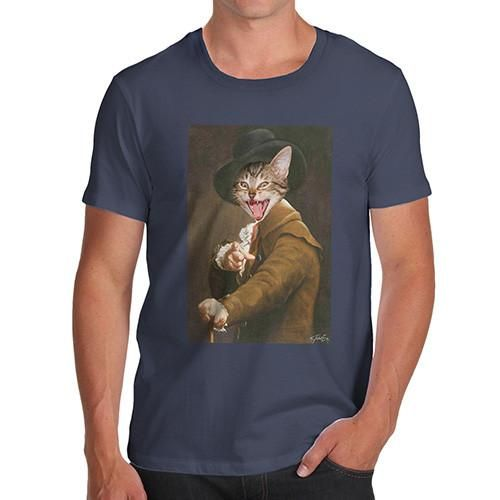 Joseph Ducreux Ca...  Creating Art on clothing just as unique as you are    Now Available at http://inkrocks.com/products/joseph-ducreux-cat-face-pointing-laughing-mens-t-shirt?utm_campaign=social_autopilot&utm_source=pin&utm_medium=pin