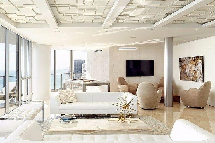 Красивая современная квартира разработана студией BBH Design Studio и расположена в солнечном Майами, штат Флорида. - Дизайн интерьеров | Идеи вашего дома | Lodgers