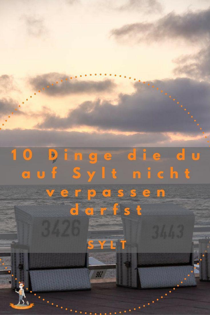 10 Dinge die man auf Sylt nicht verpassen darf