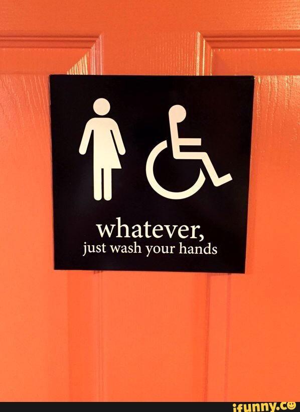 funny, equality, bathroom