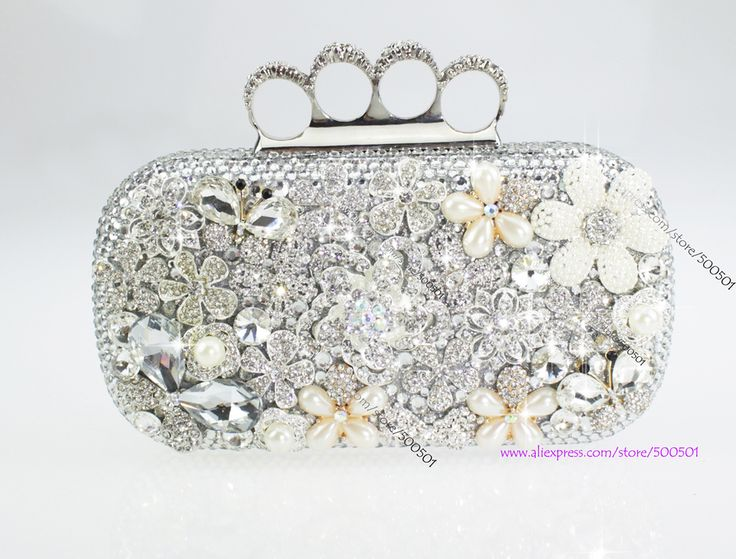 47 Best Handmade Swarovski Crystal Clutch Bags Images On