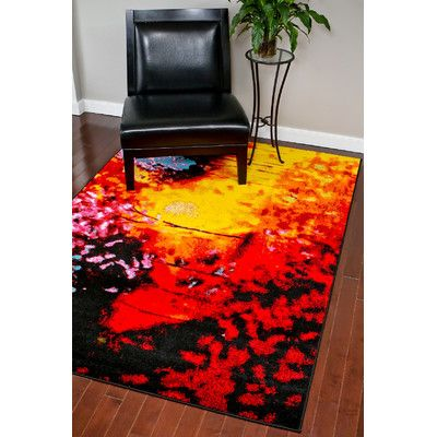Persian Rugs Red Area Rug Rug Size: 8u0027 X ...