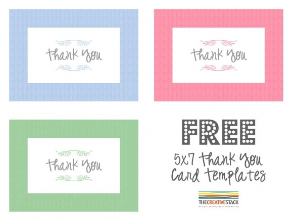 ... Thank You | Free Thank You Cards, Thank You Card Template and Thank