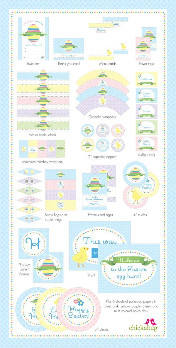 365 best Easter - Printables images on Pinterest Easter, Easter - easter invitations template