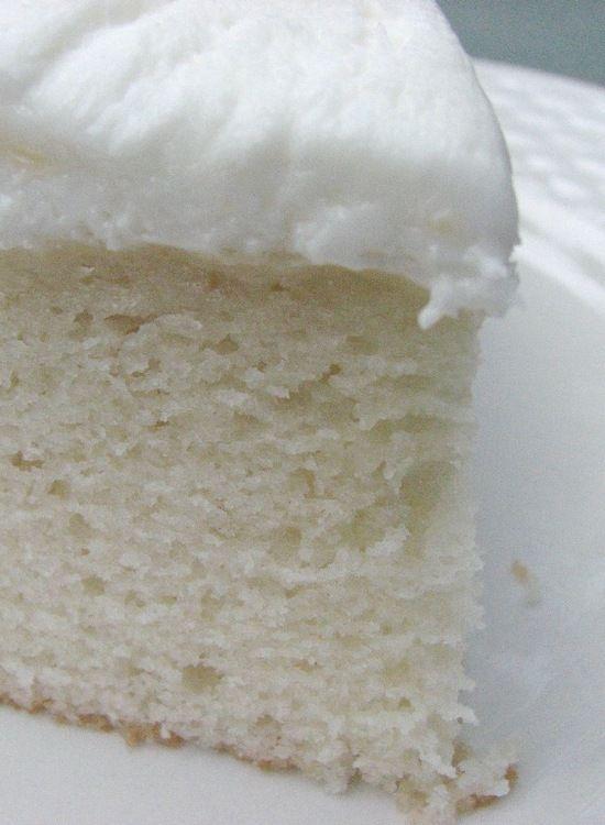 White Almond Wedding Cake – great cake for decorating.