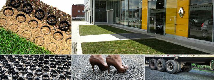 Jardines verticales Bogotá, Techos verdes, SUDS, adoquin ecológico - Ecotelhado Colombia