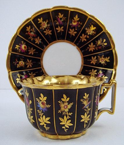 Exceptional Antique Old Paris Tea Cup & Saucer