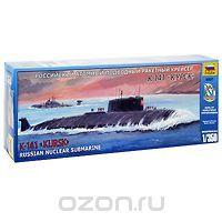 Сборная модель Российский атомный подводный ракетный крейсер К-141 Курск
