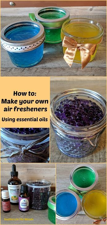 How to make you own air fresheners using essential oils