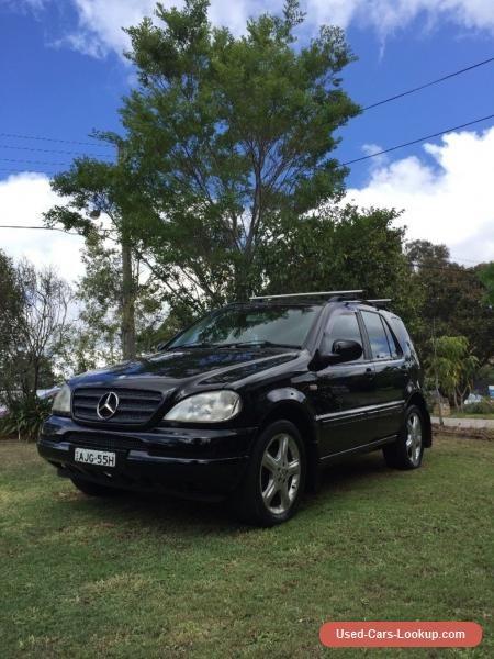 NO RESERVE Mercedes Benz ML 320 W163  #mercedesbenz #mseries #forsale #australia