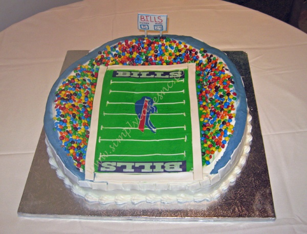 Best Buffalo Bills Cakes Images On Pinterest Buffalo Bills - Buffalo birthday cake