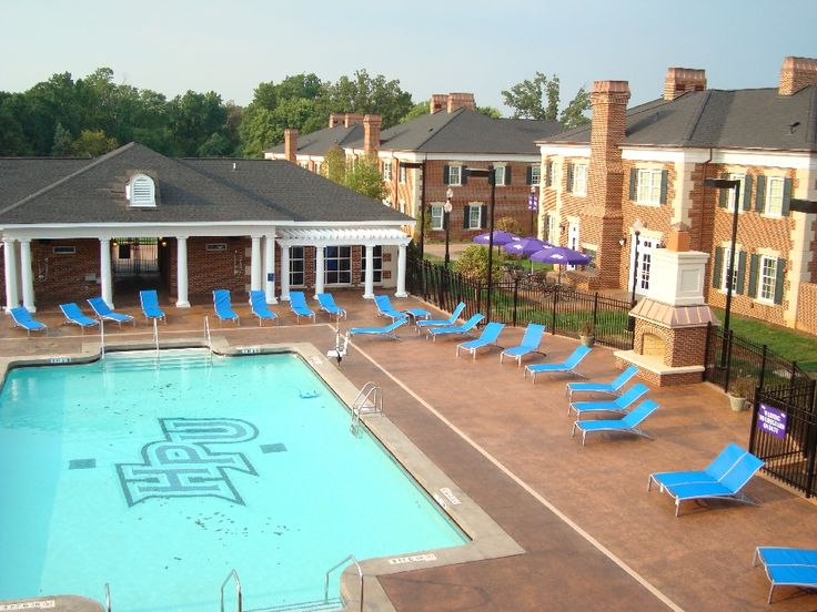 High Point University U2013 Greek Village Pool Deck And Patio U2013 30,000 Square  Feet Part 66