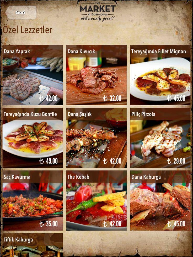Steakhouse using FineDine iPad Menus