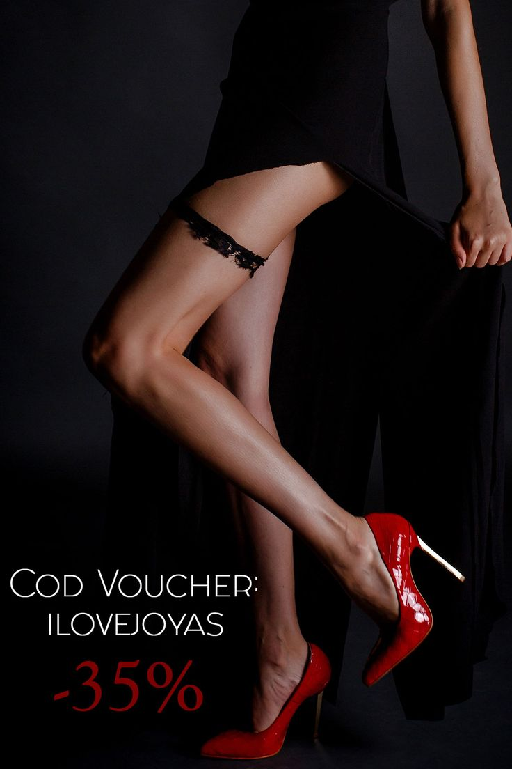 """Use the voucher code """"ILOVEJOYAS"""" at check-out and the red Keira luxury stilettos can be your with 35% discount @joyasromania"""