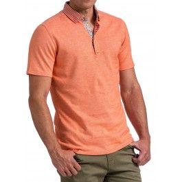 HNL 4132 Orange Polo
