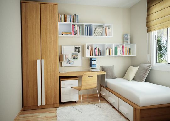 I would have KILLED for my dorm room or room growing up to look like this!