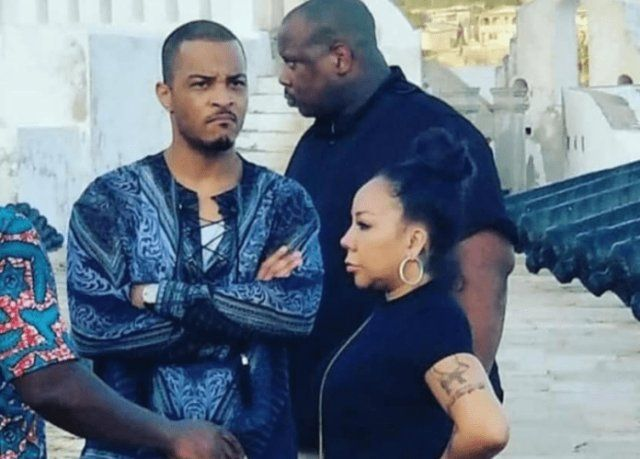 US rapper TI and his wife recently made an emotional visit to Ghana rsquo;s Cape Coast Castle ...