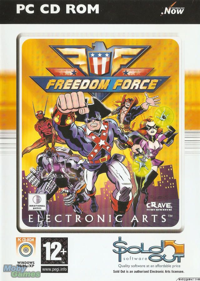 FREEDOM FORCE    PC   NUOVO!!