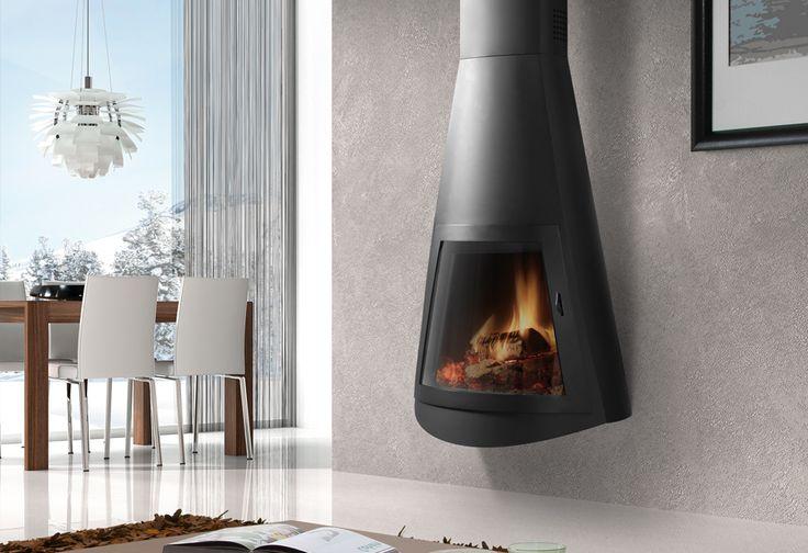 Hergom - Estufas, hogares y chimeneas de hierro fundido para leña y gas. Europa América - Creta