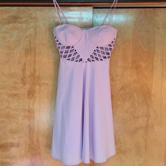Lavender Dress This dress is perfect for formal/prom! Bra too includes padding. Worn once! Ark & Co Dresses