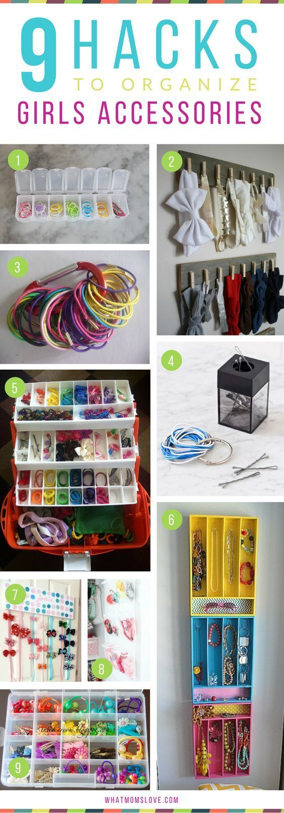 Easy Cheap Ways To Organize A Girls Room And Closet