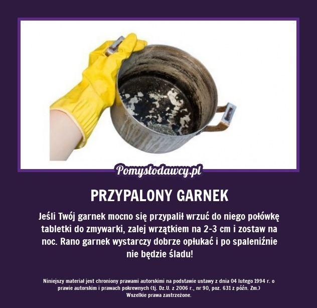 PROSTY TRIK NA MOCNO PRZYPALONY GARNEK