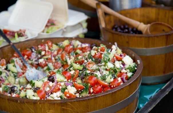 Do u like greek salad? Let us serve u!