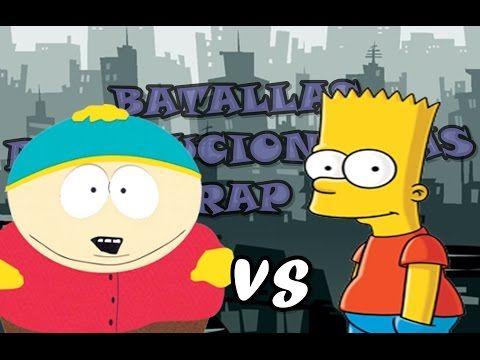 Eric Cartman VS Bart simpson l Batallas Revolucionarias rap - YouTube