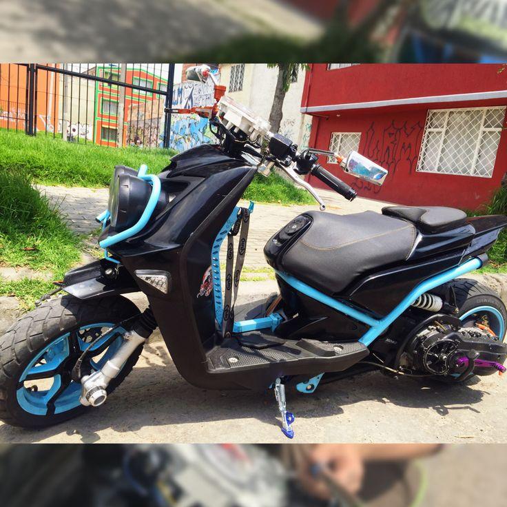 #babyblue#scooterlife#yamahabws