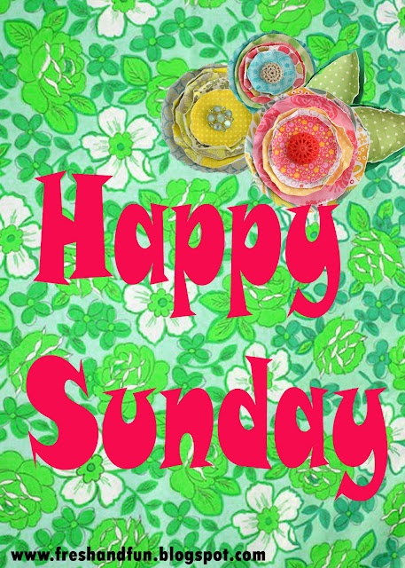 Happy Sunday!!! Hoping everyone has a fabulous day :-)