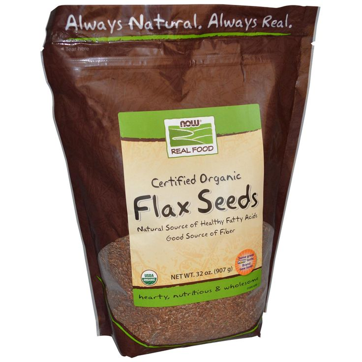Now Foods, Real Food, Certified Organic Flax Seeds .... LOVE this brand, I mix it into EVERYthing I can think of!!