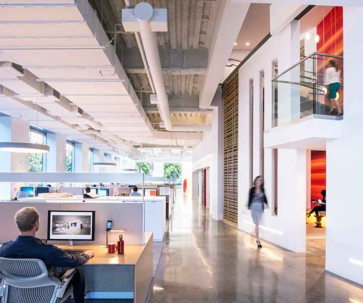 Офис знаменитой архитектурной корпорации Gensler`s в Ньюпорт-бич, Калифорния