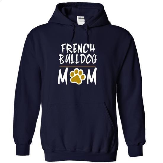 FRENCH BULLDOG mom love dog - #cute t shirts #hooded sweatshirt dress. CHECK PRICE => https://www.sunfrog.com/Pets/FRENCH-BULLDOG-mom-love-dog-7040-NavyBlue-18931623-Hoodie.html?60505