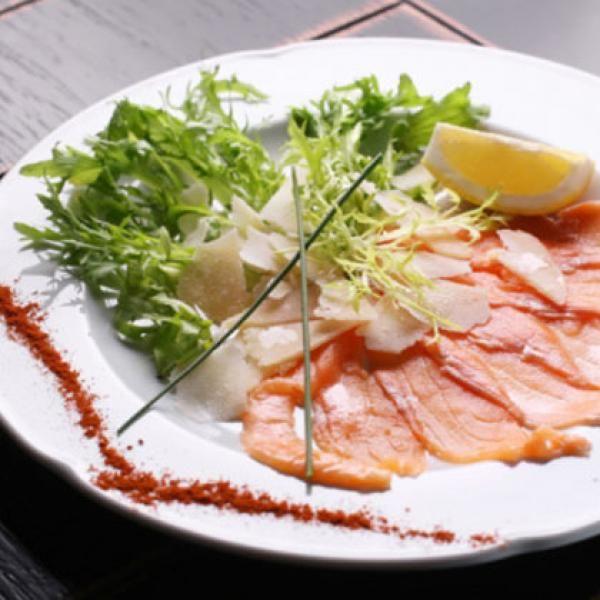 Try this paleo dish: Sunchoke and Hamachi Carpaccio