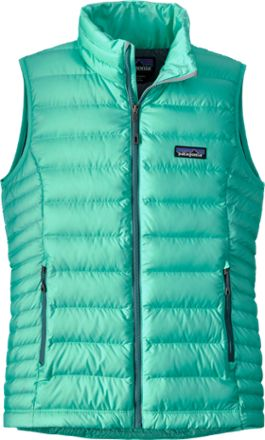 Patagonia Women's Down Sweater Vest Galah Green XL