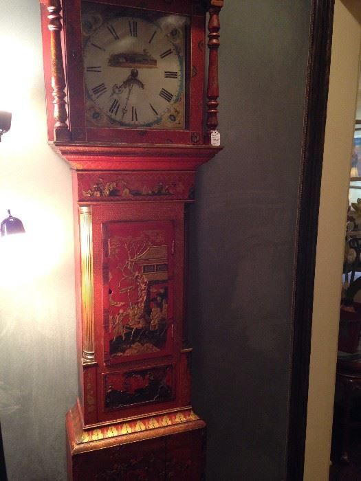 One of two Asian style grandfather clocks  New Divide & Conquer sale starting this Wednesday November 15-18, 2017 check out the details here:  https://www.divideandconquerofeasttexas.com/nextsales.php  #estatesales #consignments #consignment #tyler #tylertx #tylertexas #organizing #organizers #professionalorganizer #professionalorganizers #movingsale #movingsales #moving #sale #divideandconquer #divideandconquerofeasttexas #divideandconquereasttexas #marthadunlap #martha #dunlap