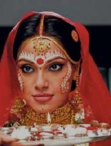 bengali bride make up