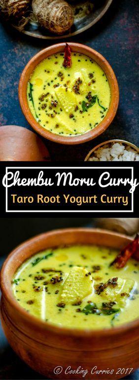 Chembu Moru Curry for Kerala Sadya