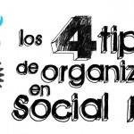Los 4 tipos de organizaciones en las redes sociales